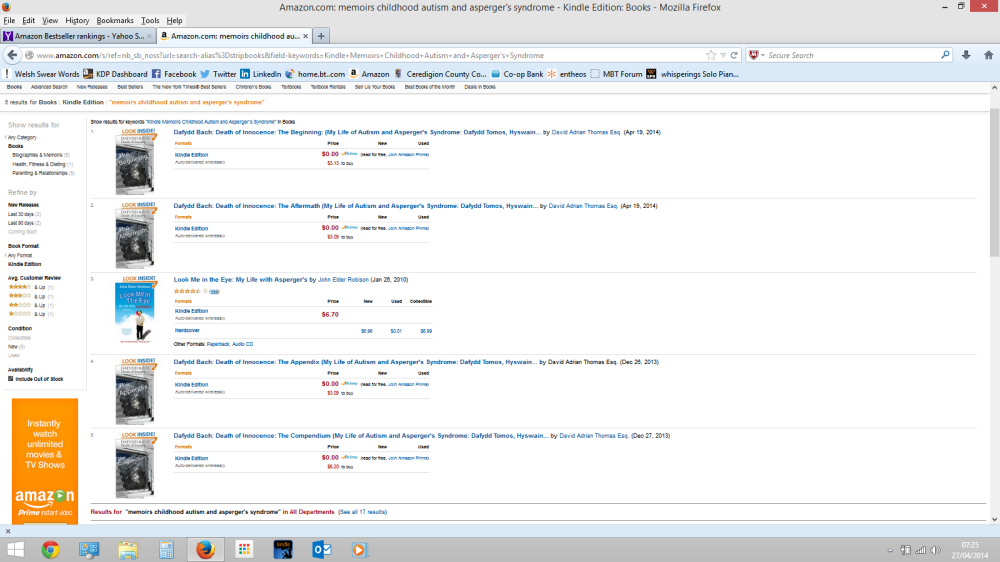 00001 Bestsellers